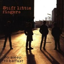Stiff Little Fingers No Sleep 'Til Belfast Live CD NEW SEALED Punk