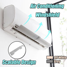 Air Conditioner Wind Shield Retractable Cold Wind Deflectors Baffle Anti Direct