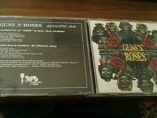 GUNS 'N' ROSES ACOUSTIC JAM CD beech marten TIMBRO ROSSO SIAE
