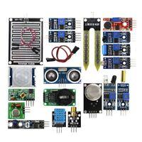 16pcs Useful Sensor Module Board Kit for Arduino Raspberry Pi 3/2 Model B New