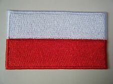 INDONESIA PATCH Top Quality Embroidered Iron On Badge National Country Flag NEW