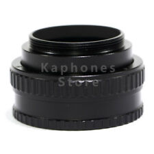 M42 Lens Adjustable Focusing Helicoid Macro Tube Adapter 17-31mm