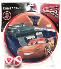 Disney Pixar Cars 3 Target Dart Ball Game New McQueen Jackson Storm Toy