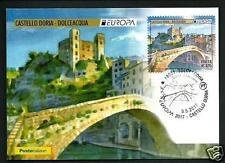 Italia 2017 - Dolceacqua / Castello Doria - Cart. Filat. Uff. Poste Italiane