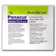PANACUR® VERMIFUGE FORMAT GRANULÉS 22.2% POUR CHIENS ET CHATS UN SACHET DE 1G