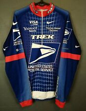 MEN'S NIKE ITALIA ITALY CYCLING BICYCLE LONG SLEEVE SHIRT JERSEY MAGLIA SIZE L