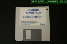 ATARI ST POWER PACK DISK E - SPACE HARRIER - TESTED WORKING FLOPPY SOFTWARE