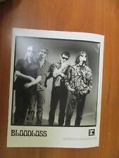 Vintage Glossy Press Photo Musician Bloodloss In-A-Gadda-Da-Change