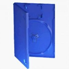 25 X Playstation PS2 Game Cases - Blue Replacement Game Case With Card Holder...