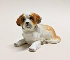 Lefton St Bernard Dog Figurine Porcelain Hand Painted Japan