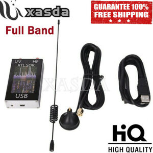 Full Band U/V HF RTL-SDR USB Tuner Receiver USB Dongle w/ RTL2832U R820T2 #TOP
