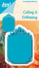 Joy Crafts Cutting & Embossing Die TAG BLUE MOLD 6002/0539