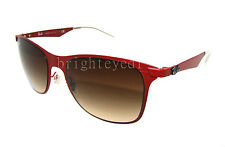 Authentic RAY-BAN Wayfarer Flat Metal Sunglasses RB 3521 - 162/13 *NEW*