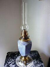 LAMPE  A   PETROLE  ANCIENNE.    EPOQUE FIN DU XIX °.