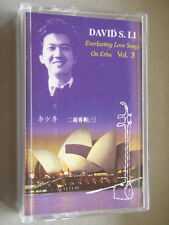 David S.Li - Everlasting Love Songs On Erhu Vol. 3 Tape Cassette
