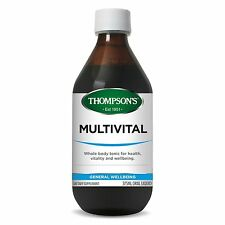 THOMPSONS MULTIVITAL 375ML ORAL LIQUID WHOLE BODY TONIC FOR GENERAL WELLBEING