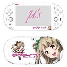 Skin Decal Sticker For PS Vita Slim 2nd Gen PCH-2000 Series-Love Live #08 + Gift