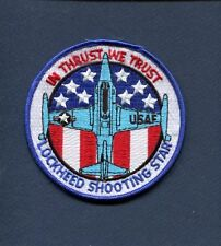 LOCKHEED T-33 T-BIRD SHOOTING STAR USAF Training Squadron Patch ATC  TFTS BL