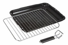Cooker Oven Grill Pan Tray With Rack /& Handle For Electrolux 380mm X 270mm