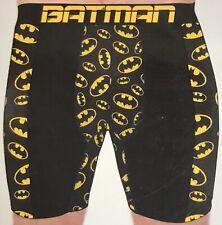 NWT MENS DC Comics BATMAN BLACK SILKY KNIT BOXER BRIEF  SIZE XL