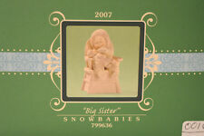 "Department 56 Snowbabies ""Big Sister"" . NIB Figurine 2007 RARE"