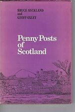 PENNY POSTS OF SCOTLAND  Illustrated POSTAL HISTORY book.