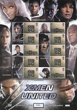 Bc-033 Gb 2004 X-Men United - Smiler sheet Unmounted Mint