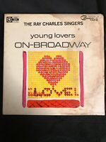 Ray Charles Singers - Young Lovers On Broadway - 4 Track Reel To Reel 7 1/2 IPS