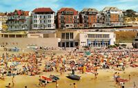 Vintage 70s/80s Dorset Postcard, Seafront Boscombe, Beach, Sun, Sea, Sand DA6