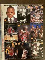 Rare Uncut Michael Jordan Cards March 1999 Sports Illustrated for Kids Magazine