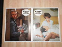 Maigret und sein grösster Fall 17 Original Aushangfotos Heinz Rühmann