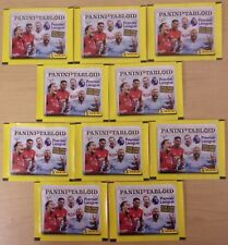 Premier League Tabloid Special Ed Panini Sticker Collection ~ 10 x Sealed Packs