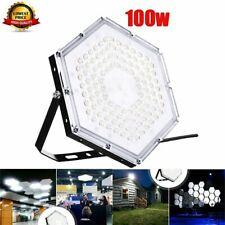 100W LED Hallenbeleuchtung Deckenstrahler Werkstattleuchte Industrielampe IP65