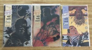 CROSSROADS #1 TO #5 - FIRST COMICS 1988 - GRAPHIC NOVEL SET Sable; Badger Cover
