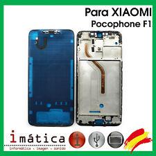 Frame Intermediate for Xiaomi Pocophone F1 Black Chassis Frame Screen LCD