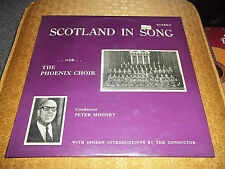 Scotland In Song With The Phoenix Choir Peter Mooney Rare Scotland Import LP