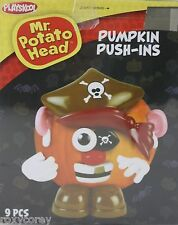 Halloween Mr Potato Head Pumpkin Push In Pirate Costume 9 Parts NIB