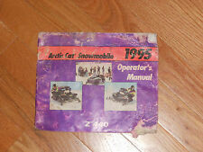 1995  ARCTIC CAT ( Z tm 440 )   SNOWMOBILE OPERATOR'S MANUAL