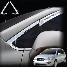 Chrome A-Pillar Quarter Glass Molding Trim Cover for 06~12 Carens Rondo