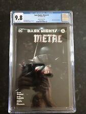 Dark Nights Metal #2- Mattina Variant Cover-CGC 9.8-white Pages