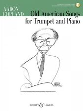 Old American Songs Trumpet and Piano Chamber Music Book and Audio NEW 048023411
