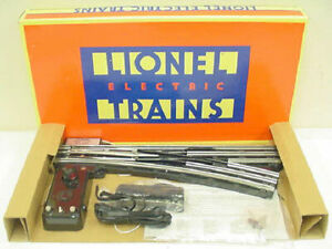 Lionel 6-65165 O O72 Right Hand Remote Control Switch Turnout EX/Box