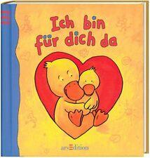 Süßes Bilderbuch: Ich bin für dich da! Liebevolle Mutter-Kind Texte; Kleinkinder
