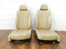 VW Passat 3C Limo Lederausstattung Sitz Leder Beige Sitzheizung Original