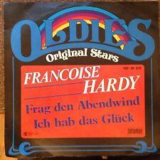 7'Francoise Hardy  Fang den Abendwind/Ich hab das Glück  60's GOLD/OLDIES SERIE