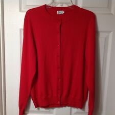 CIELO WOMENS LONG SLEEVE BUTTON FRONT RED SWEATER BLOUSE SHIRT TOP, 2XLARGE, XXL