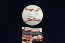 Andruw Jones BRAVES YANKEES Signed Autograph OML Baseball W/10x GG - JSA WPP