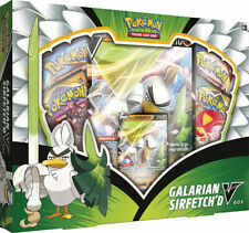 Pokemon TCG: Galarian Sirfetch'd V Box - Contains 4 Booster Packs - New & Sealed