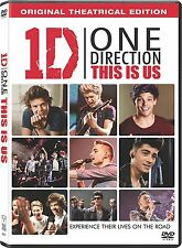 One Direction: This is Us: 1D Music Documentary Movie Box / DVD Set NEW!