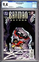 Batman Beyond 4 CGC Graded 9.4 NM DC Comics 1999